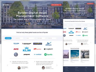 Customer page customer customer page webdesign ui ux interface filter clients customer logos website bynder digital asset management