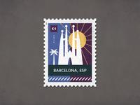 Post Stamp Barcelona