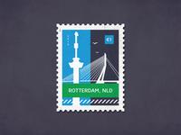 Post stamp Rotterdam