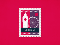 Post stamp London