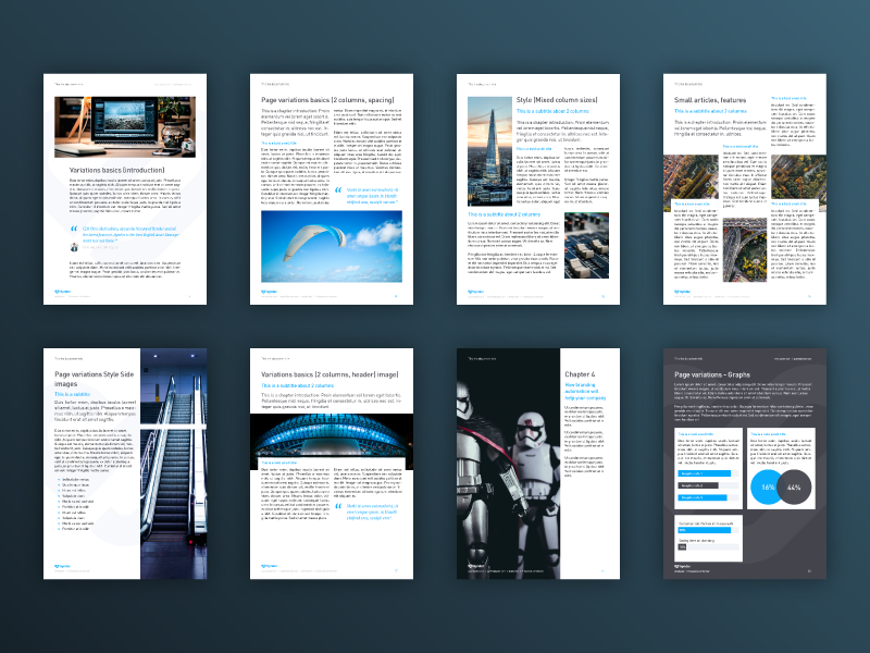 white paper document template by mike zuidgeest