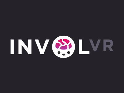 INVOLVR Logo logotype logomark brand vr icon logo branding