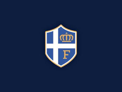 Logo re-upload - Fingelberg scandinavian cross fingelberg crown kingdom logotype coat of arms