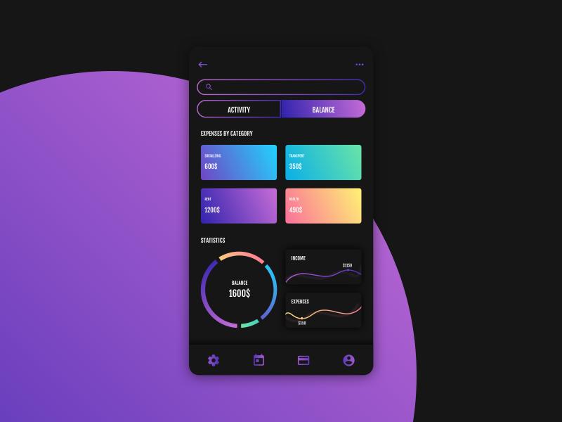 MONEY sketchapp experience everyday interface web ui minimal flat digital clean app wallet