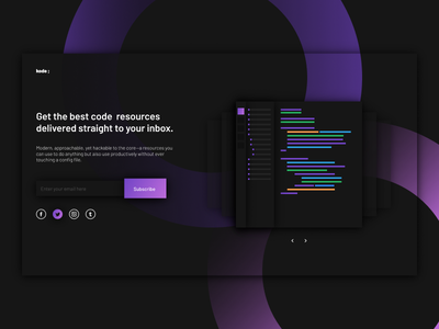 SUBSCRIBE subscribe app clean resources landing minimal ui web interface experience everyday sketchapp