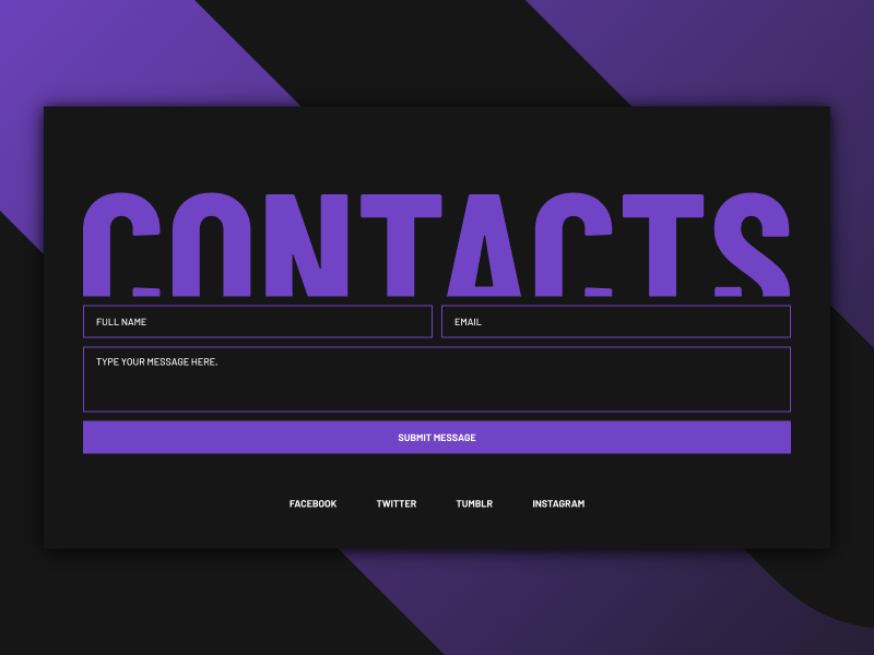 CONTACTS sketchapp everyday experience interface web ui minimal landing social clean app contact