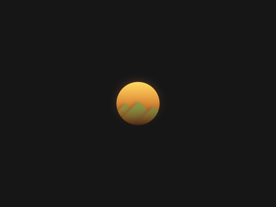 SUN icon app clean gradient color minimal ui web interface experience everyday sketchapp