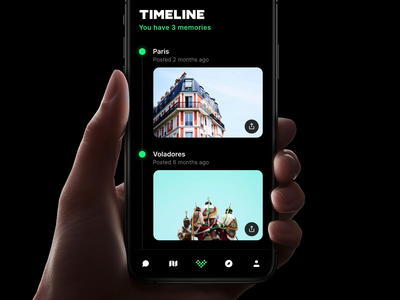 Volt - Timeline Photos timeline kit ios animation prototyping design prototype framer
