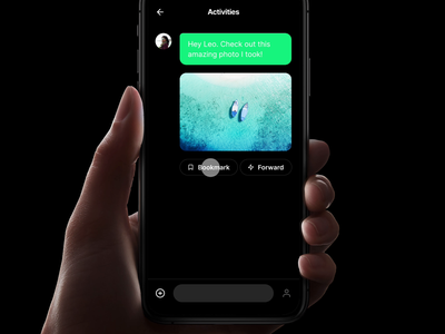 Volt - Bookmark Messages messages bookmark kit ios animation prototyping design prototype framer