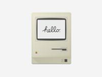 Mac 128k - Sketch Freebie