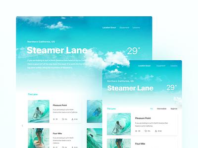 Framer Web Design Template freebie web template download framer design prototype surfing website webdesign responsive