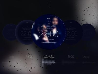 Smartswatch Moon Notification signal process