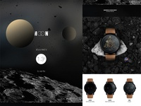 MOON Smartwatch UI design concept