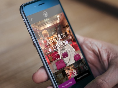 My77 responsive website design concept website webdesign shop responsive my77 mobil girl fashion clothing clothes
