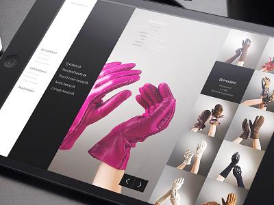 Karma Pécsi Kesztyű responsive website design concept website webshop webdesign web responsive michael jackson madonna lady gaga gloves