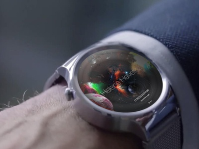 Avengers UI Concept for android watch, incoming call screen android iwatch user interface concept design avengers huawei ui time clock watch smartwatch