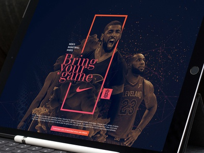 Nike men's basketball shoes rotator design concept