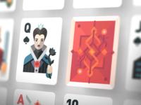 Po-po-poker cards!