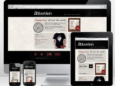Abberdein   responsive website
