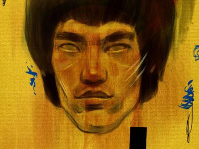 Lee digital painting
