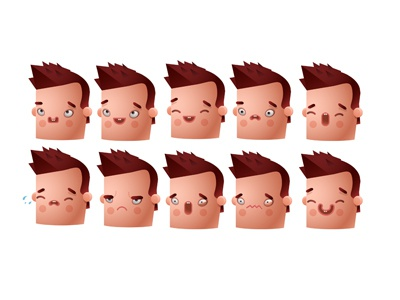 Mobinil Chelsea character design illustration