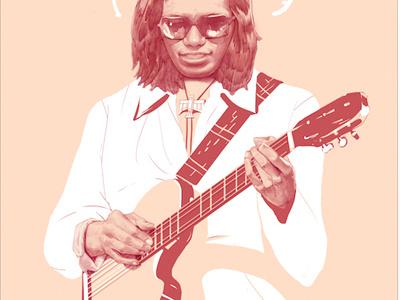 Sixto Rodrigeuz poster music illustration