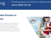 Stagg Plumbing service page