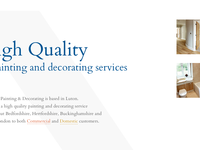 Lonsdale Painters and Decorators Limited New Website Concepts