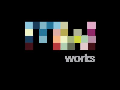 Mosaic Works Logo Concept 1 mosaic logo design logo