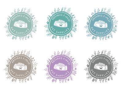 Logo Concepts for Natures Finest Pet Supplies pets nature concepts logo