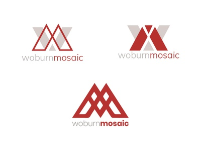 Woburn Mosaic Logo Concepts logo design concept logo design concept logo company logo company branding branding amasci