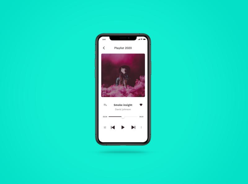 daily ui challenge 09  music player design app music app ui ui challenge dailyui