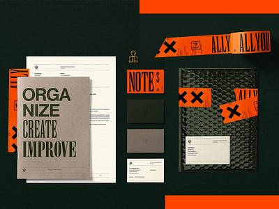 AYI - Branding typography urban orange green graphicdesign designinspiration design brandinginspiration branding allyoursisland