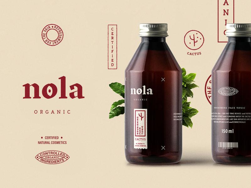 nola organic – Branding
