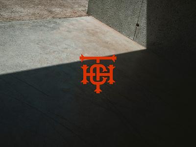 TCH Monogram concrete urban type art typedesign logo inspiration logo branding brandmark monogram letter mark monogram logo monogram