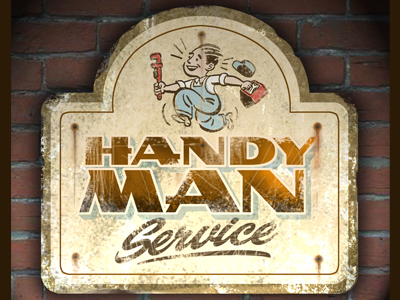 LHF Handyman lhf handyman letterhead fonts 40s fonts bold fonts patrick kalange convex fonts