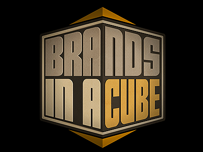 """""""Brands In A Cube"""" by Marco Billiani marco billiani tallington lhf letterhead fonts display commercial tall fonts condensed bold"""