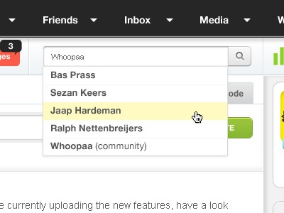 Dashboard Search suggestions whoopaa search suggestions
