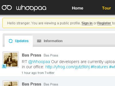 Whoopaa Profile whoopaa