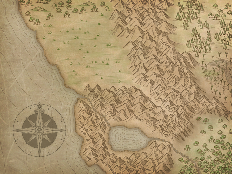 Everquest Map by Cesar Kobashikawa on Dribbble