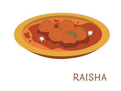 Alur Dum - A Bengali Breakfast illustration
