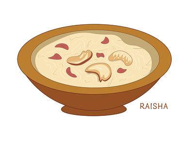 Payesh bengali indian illustration