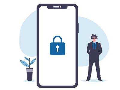 Security Illustration illustration