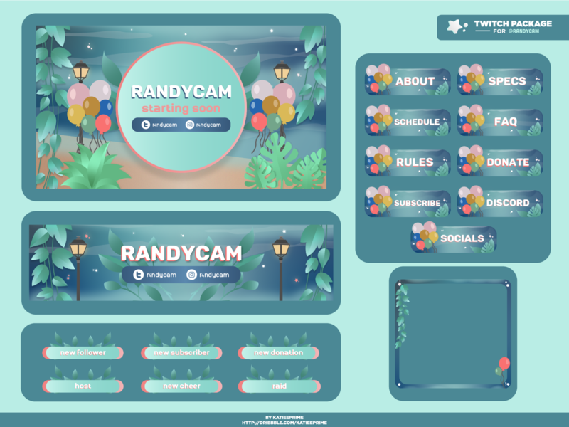 Twitch Package 007 - Randycam