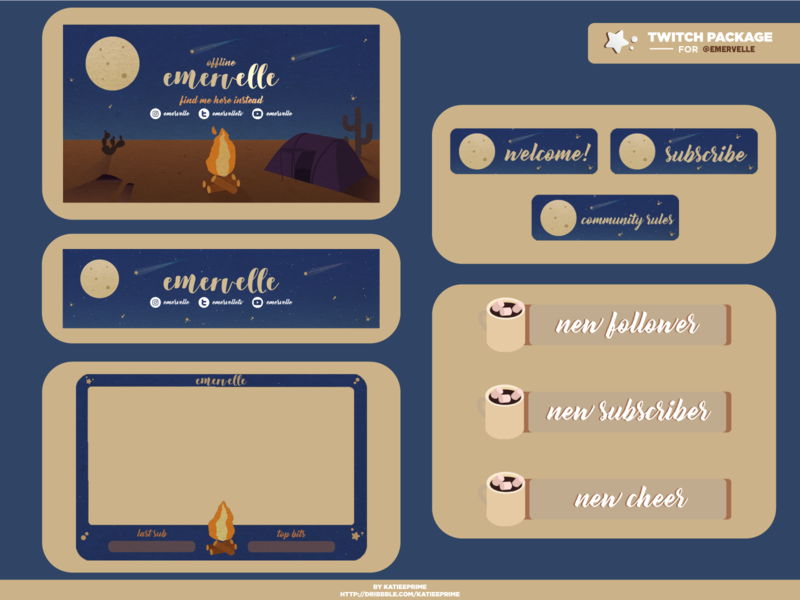 Twitch Package 009 - Emervelle