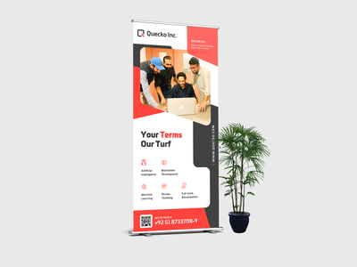 Roll Up Banner roll up banner dribbble design