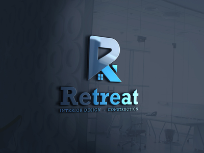 Retreat logo retreatlogo company logo company branding logo design