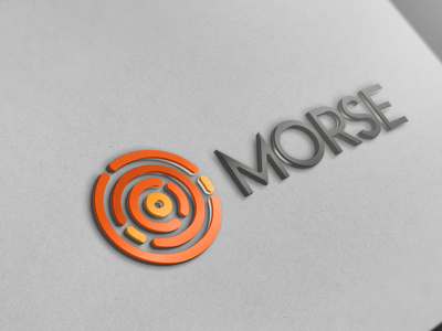 Morse Logo dribbble illustration typography vector design logodesign logotype logo