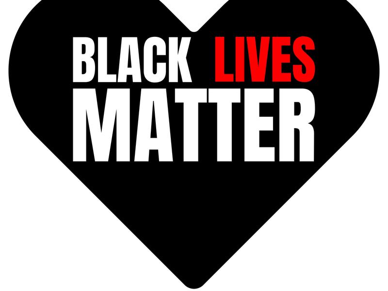 I Can't Breathe. Stop Killing Black People. Black Lives Matter.