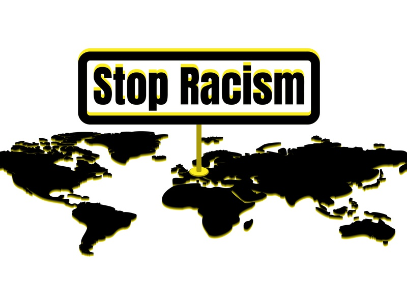 Stop Racism. I Can't Breathe. Stop Killing Black People.